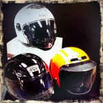 Motorcycle and scooter helmets
