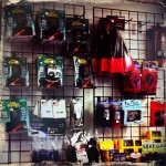 Accessories wall