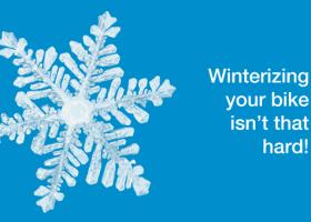 Winterizing your bike isn't that hard